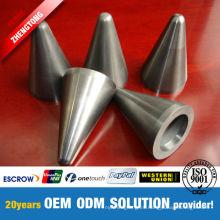 Válvula resistente a la corrosión de carburo de tungsteno estándar y no estándar