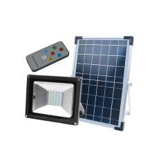Proyector de seguridad solar LED de alta potencia