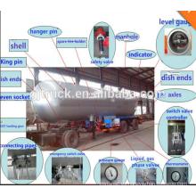 Semirremolque LPG tanque