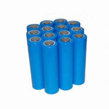 3.2V 1400mAh IFR 18650 LiFePO4 Rechargeable Battery, Cylindrical Cell, UL, CE, RoHS Approved
