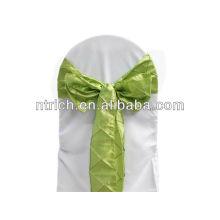 Elegante Taft Stuhl-Schärpe, Stuhl Bogen, Stuhl-Krawatte