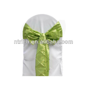 Elegant taffeta chair sash,chair bow,chair tie