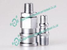 QKD153 Single Shut-off Pneumatic Coupling(Large)(Steel)