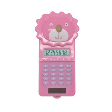 Calculadora de Bolso Cute Cartoon Lion Forma