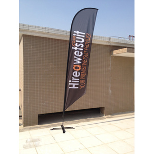 Custom Outdoor Feather Banner Flaggor