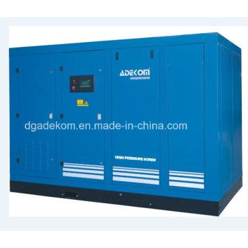 Compresseurs d'air rotatoires lubrifiés standard d'industrie d'hydroélectricité d'ASME (KHP200-18)