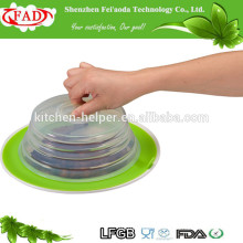 High Quality Wholesale Factory Direct Price Alimentation Aspiration Silicone Plate Topper Lid