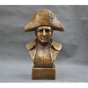 Decoration Napoleon Bronze Bust for Sale