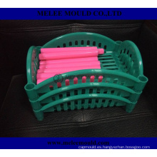 Moldeo por inyección de plástico de China para herramientas de cesta