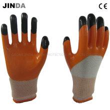 Защитные рабочие рабочие перчатки с защитой от нитрила (NH301)
