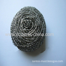 Rust-free And Eco-friendly Flat Stainless Steel 410 And 430 Spiral Scourers