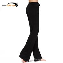 Calças Compridas de Yoga com Exercício Flexível