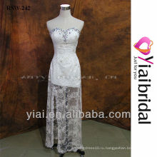 RSW242 Сторона сплит свадебные платья