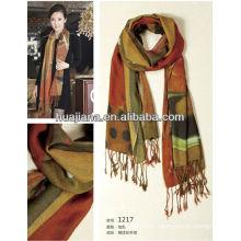 elegent women silk/cashmere scarves