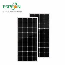 Espeon Home Supplies 18V 80W kleine schmale LED-Lampe Solar Panel
