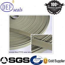 Bronze PTFE Teflon Guiding Tape/Wear Strip