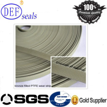 Bronze PTFE Teflon Guiding Tape / Wear Strip