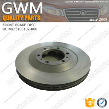 Great Wall H5 parts Great Wall Spare Parts brake disc 3103102-K00