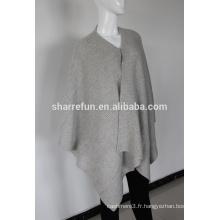 Wholesale de nombreux styles dames cachemire poncho capes