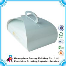 Diseño personalizado de Mini Paper Moon Cake Box and Boards