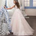 Дешевой Цене Принцесса Белый И Розовый Платье Тюль Милая Кружева Цветочница Платье Для Свадьбы С Betterfly Аппликацией Мыс