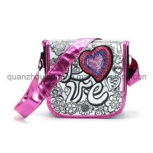 DIY Nylon Girls Student Shoulder Graffiti Doodle Bag for Promotion
