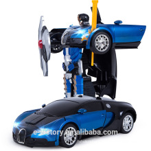 4 Channel 2-in-1 Radio Control Transform RC Car