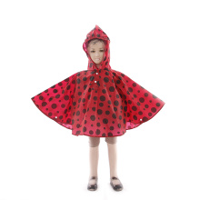Eco Friendly Printed EVA Rainco Poncho Raincoat Anak
