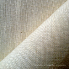 Neue Ankunft Hanf / Wolle Plain Fabric (QF13-0140)