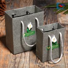 Maßgeschneiderte Beautypapier-Verpackungstüten mit verdrehtem Griff