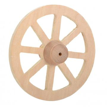Best Price for for Dollhouse Miniature Building Dollhouse Miniature Wooden Wagon Wheels export to South Korea Factory