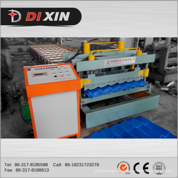 Dx 1100 Russian Polular Roof Tile Forming Machine