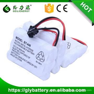 batteries de téléphone sans fil 3.6v 900mah ni-mh batterie rechargeable