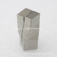 L14X8X2mm N42 Electric Products Use Rectangle Durable Permanent Magnet