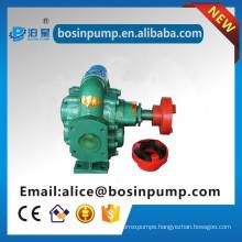 Motor power oil positive displacement pump double gear pump