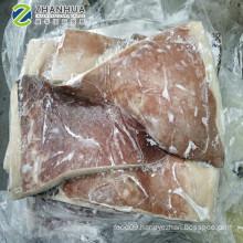 Frozen Giant Squid Dosidicus Gigas  Wing cleaned half cut cross cut
