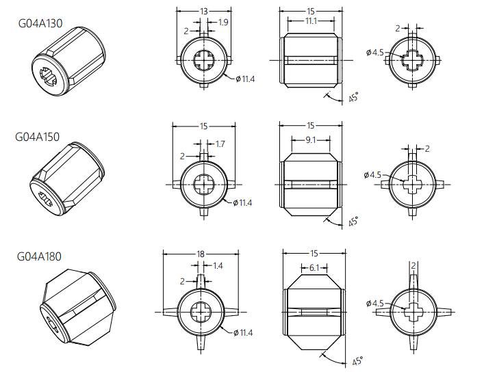 Damper Drawing For Invisible Screens