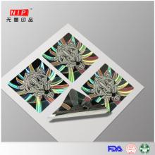 Encargo del holograma multicolor pisón evidente sellos