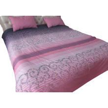 Capa de edredão de algodão impresso escovado capa de edredão