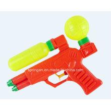 Atacado brinquedo de verão plástico arma de água com tanque de armazenamento de água
