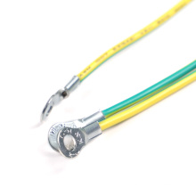 Custom insulated Terminal Ring Lug Earth Cable 250 Spade Female Terminal Wire Harness