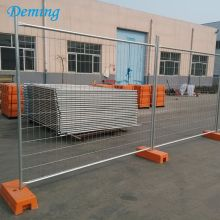 Factory Price 2.1m Height Removable Metal Fence Panels
