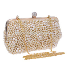 Women's Evening Dinner Clutch Bag Bride Bag For Wedding Evening Party Bridal HandBags B00097 Pearl Beaded Handbags