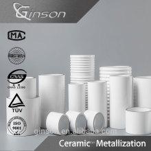 Cerâmica Metalizada Mo Mn para uso em troca de minas