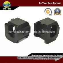 CNC Machining Mini Aluminum Cube with Black Anodized