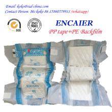 2016 Hot vendem preço de fábrica barato Absorção alta descartável Encaier Baby Diaper