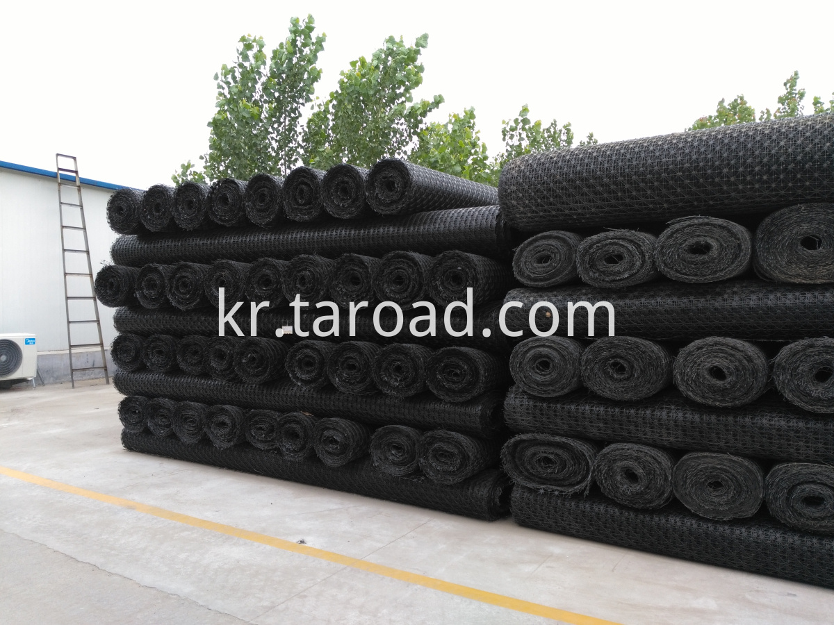 Plastic PP Multiaxial Geogrid