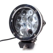 12 pcs 5W LED 60W Round LED Work Light Fog Lamp For Off road Jeep SUV ATV Truck