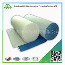 G3 G4 Meio filtrante de ar sintético com eficiência primária para ar condicionado / trem / metrô