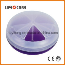 Promotion Medical Round Shape Pillbox